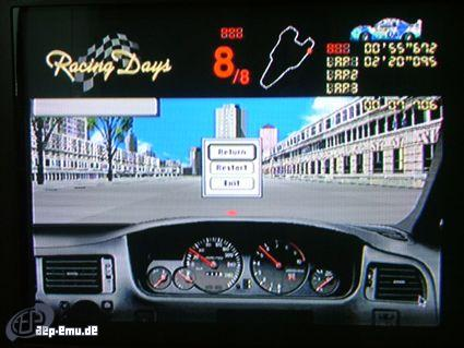 Bandain Pippin - Racing Days